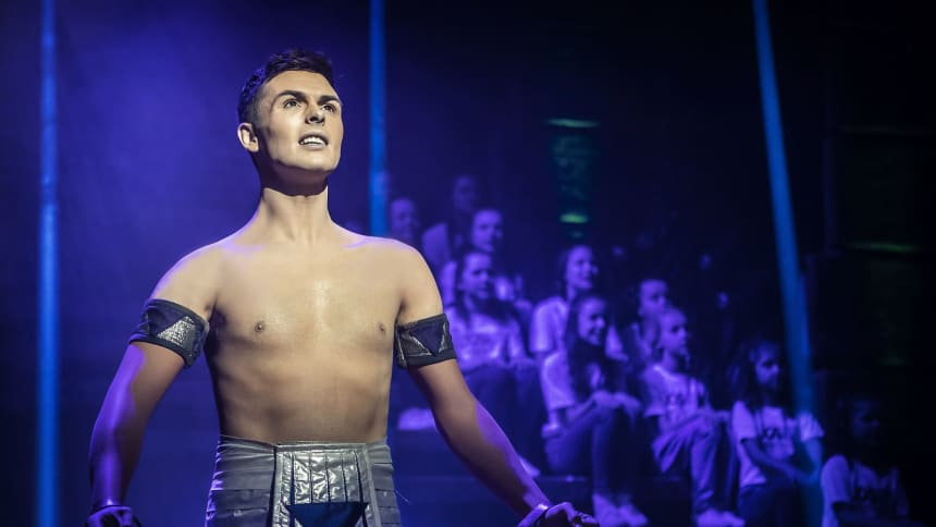 Jaymi Hensley in Joseph and the Amazing Technicolor Dreamcoat
