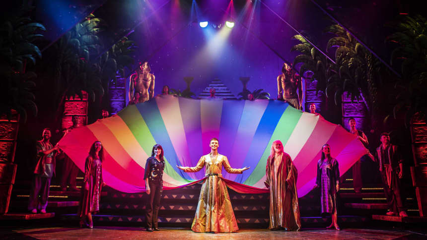 Trina Hill, Jaymi Hensley & The Cast of Joseph and the Amazing Technicolor Dreamcoat