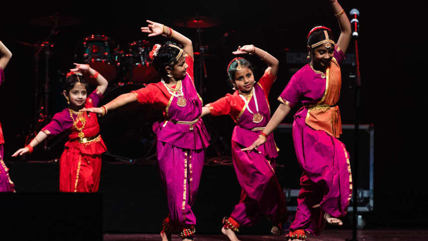 Wales Tamil Sangam performing as part of our Your Wales, St David's Day community event