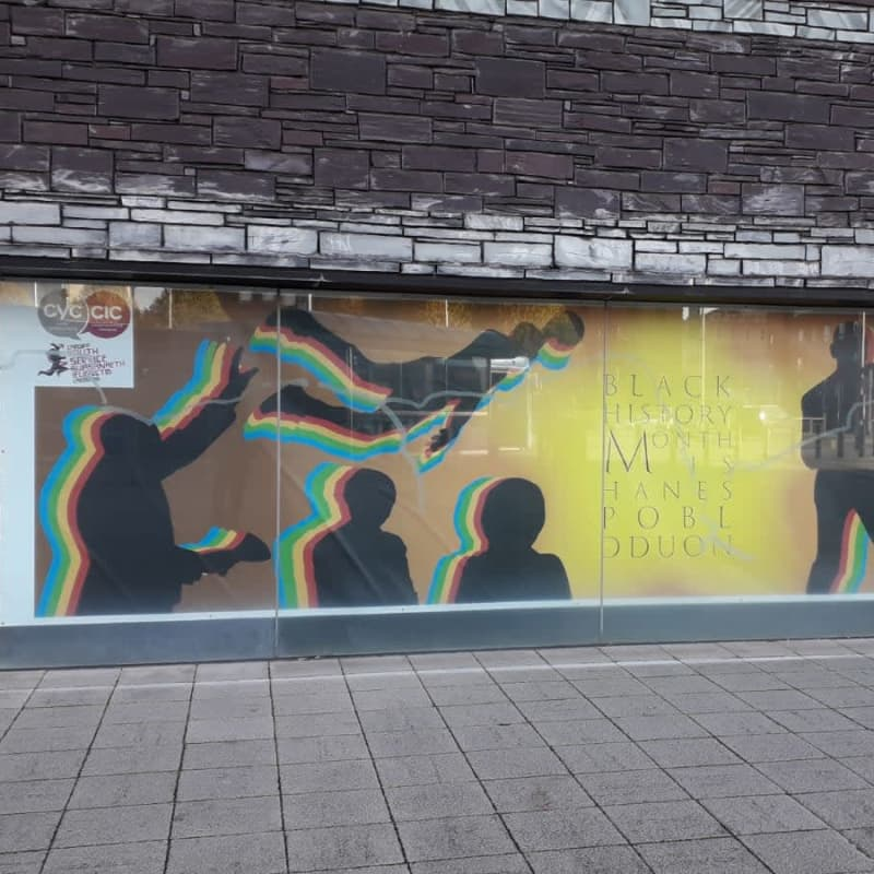 Colourful artwork for Black History Month 2020