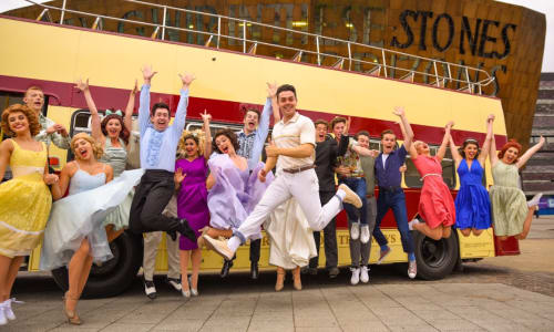 Ray Quinn and the cast of Summer Holiday
