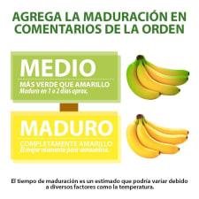Plátano Chiapas por kg