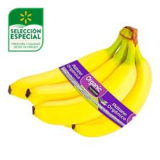 Plátano orgánico Marketside por kilo