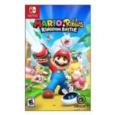 Mario más Rabbids Kingdom Battle Nintendo Switch Físico