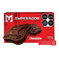 Galletas Emperador tipo sándwich sabor a chocolate 327 g