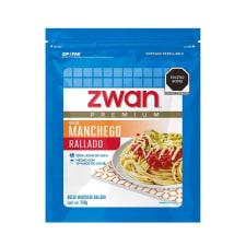 Queso manchego Zwan premium rallado 250 g