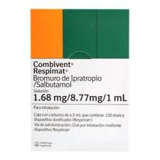 Combivent Respimat 1.68 mg/8.77 mg/1 ml solución para inhalación