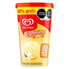 Helado Holanda Cremissimo sabor vainilla 1.3 l