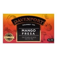 Té Davenport de mango y fresa 25 sobres de 2 g c/u