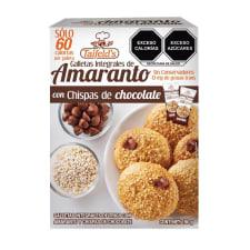 Galletas Taifelds integrales de amaranto con chispas de chocolate 190 g