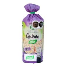 Tortitas Santiveri Organic Bio de arroz integral con quinoa 130 g