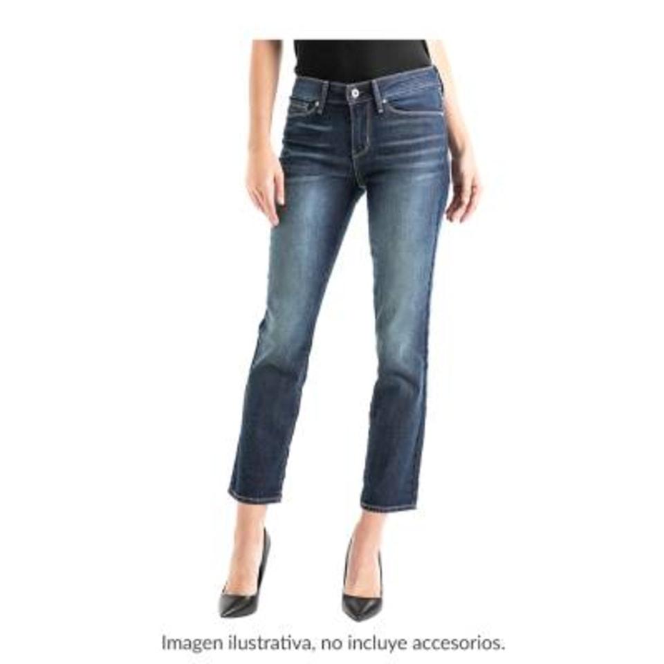 Jeans Signature By Levi Strauss Talla 10m Slim Azul Walmart