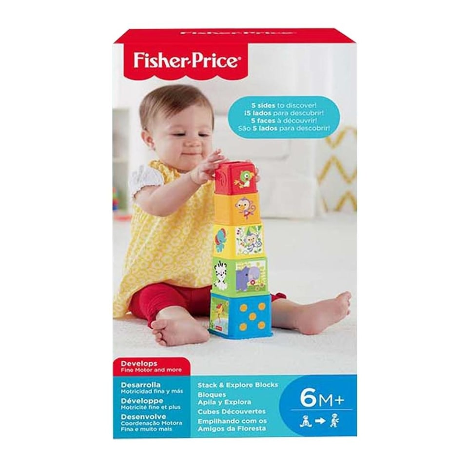 Juguete para Bebé Fisher Price Mattel Mis Primeros Bloques ...