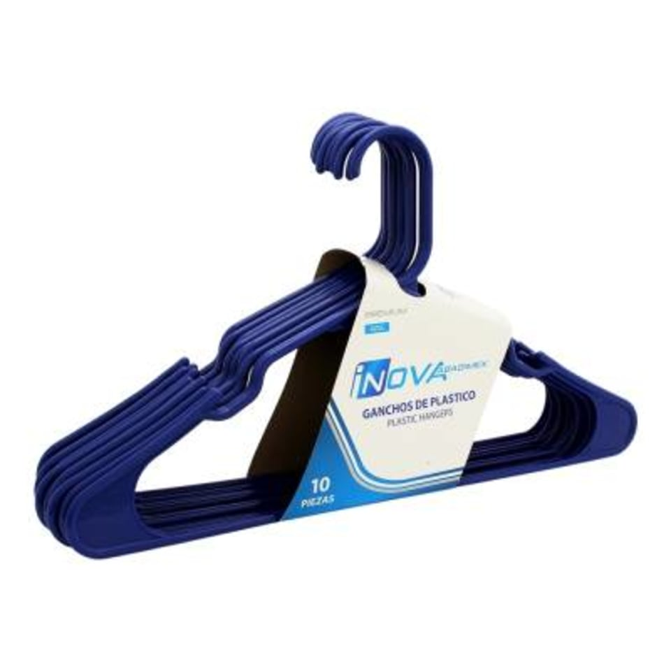 Set de 10 Ganchos Inova Abadimex Premium Azul   Walmart
