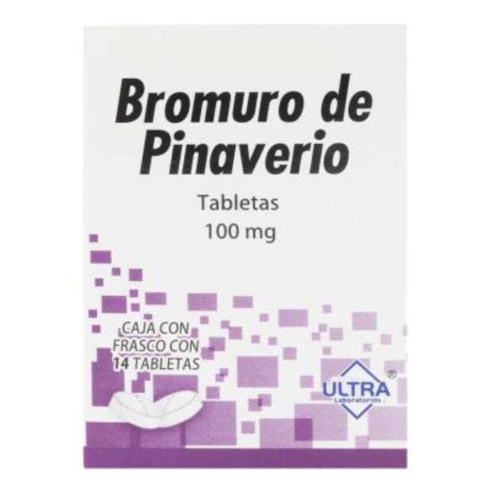 Bromuro De Pinaverio 100 Mg 14 Tabletas Walmart