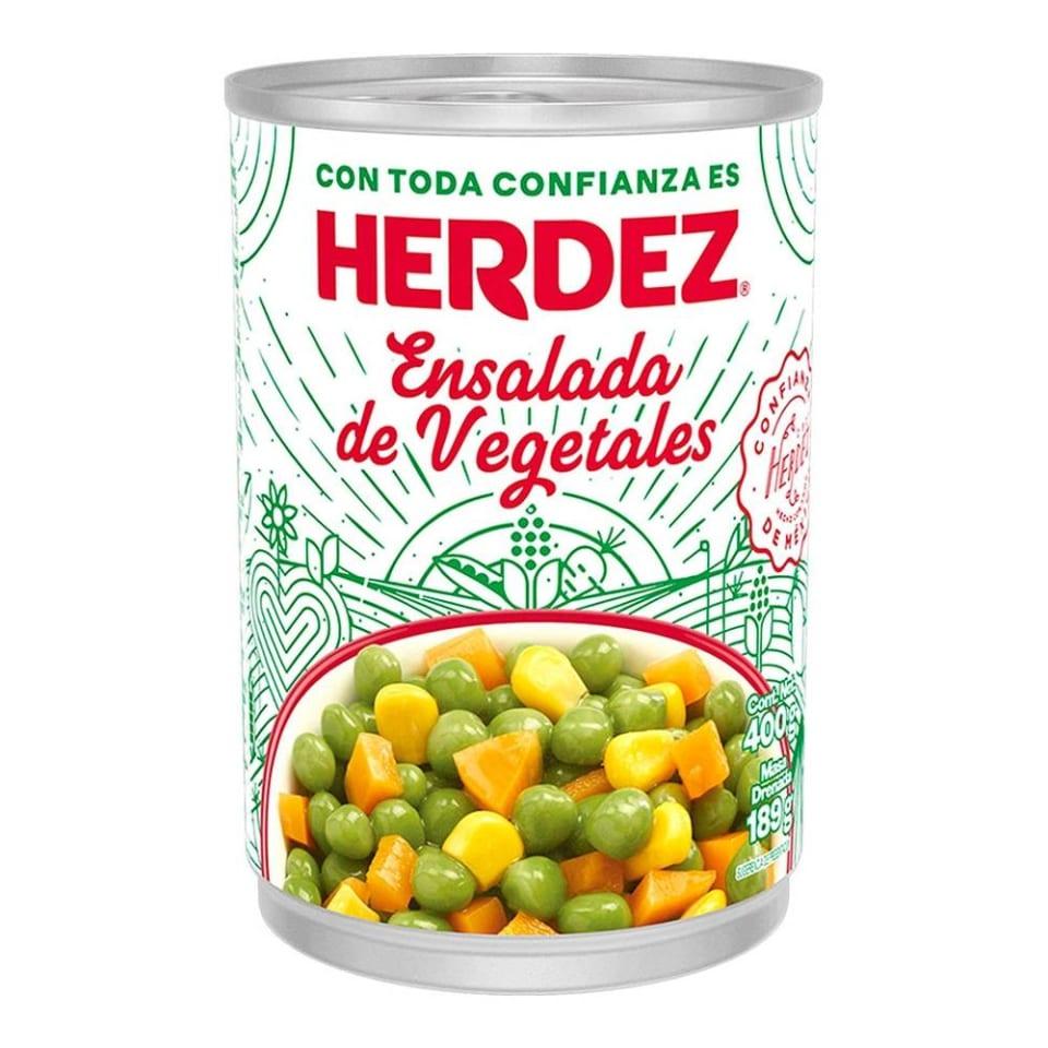 ensalada de verduras herdez 400 g