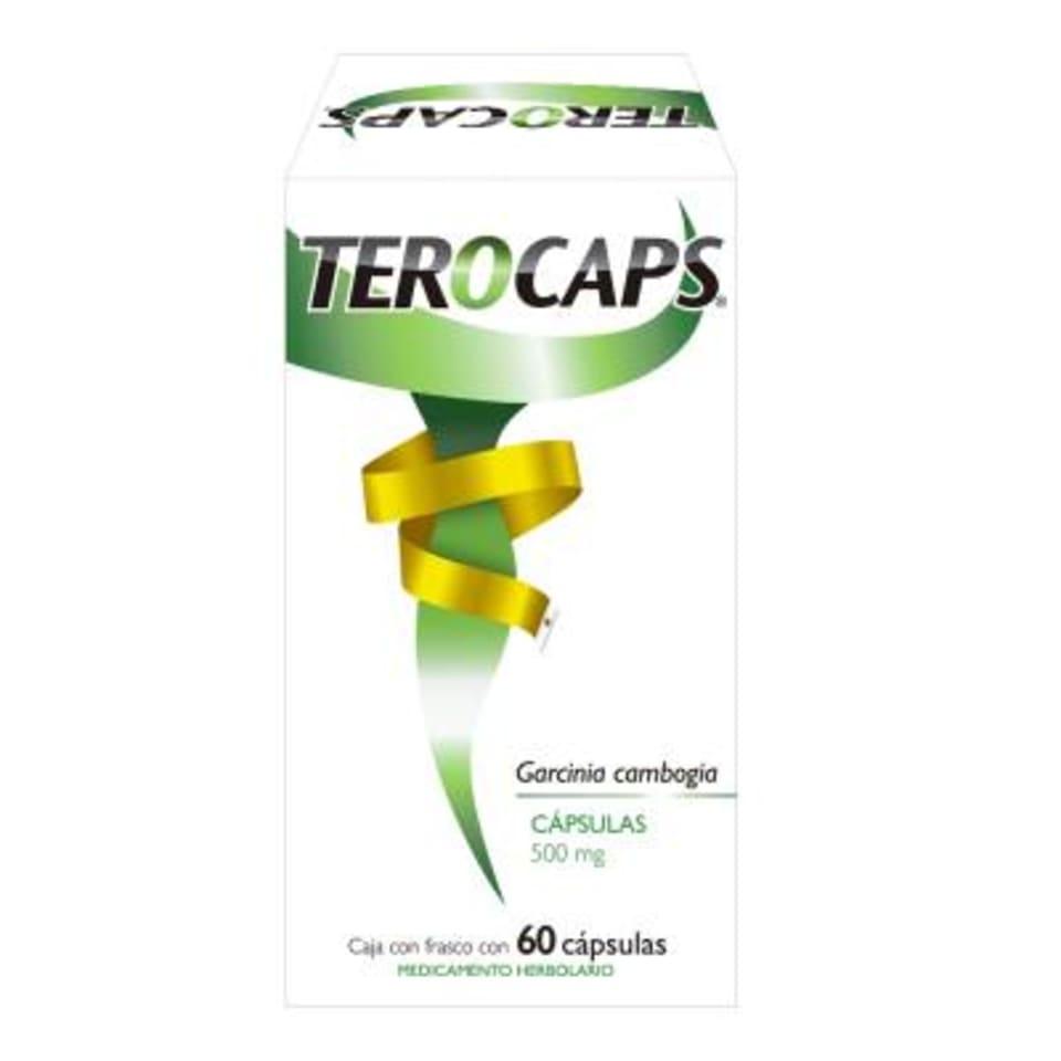 Terocaps 500 Mg 60 Capsulas Walmart