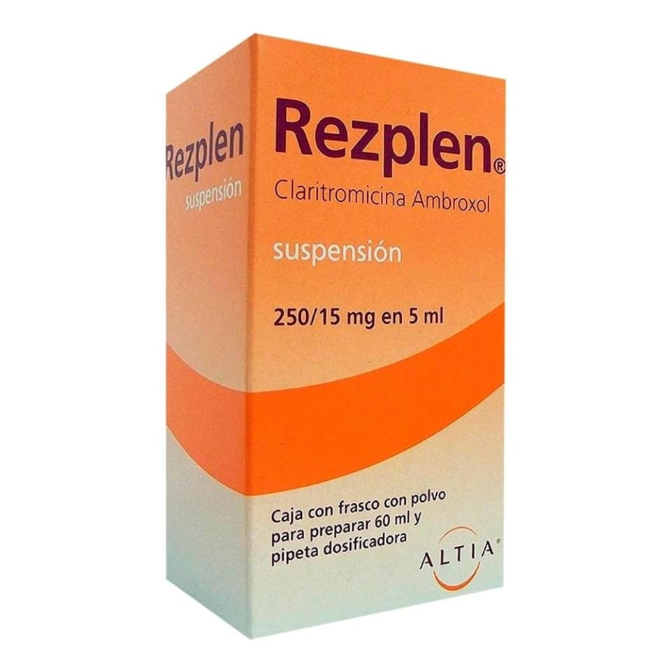 Rezplen Suspension Oral Para 60 Ml Walmart