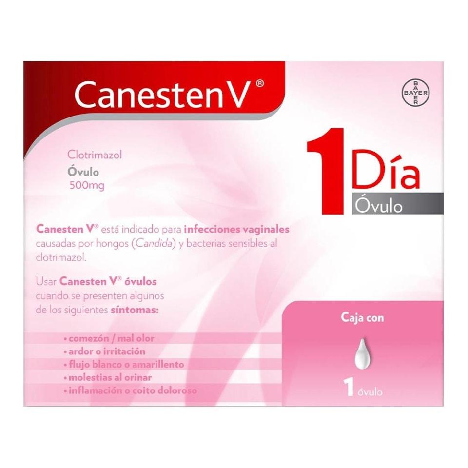 como se aplica un ovulo de canesten v