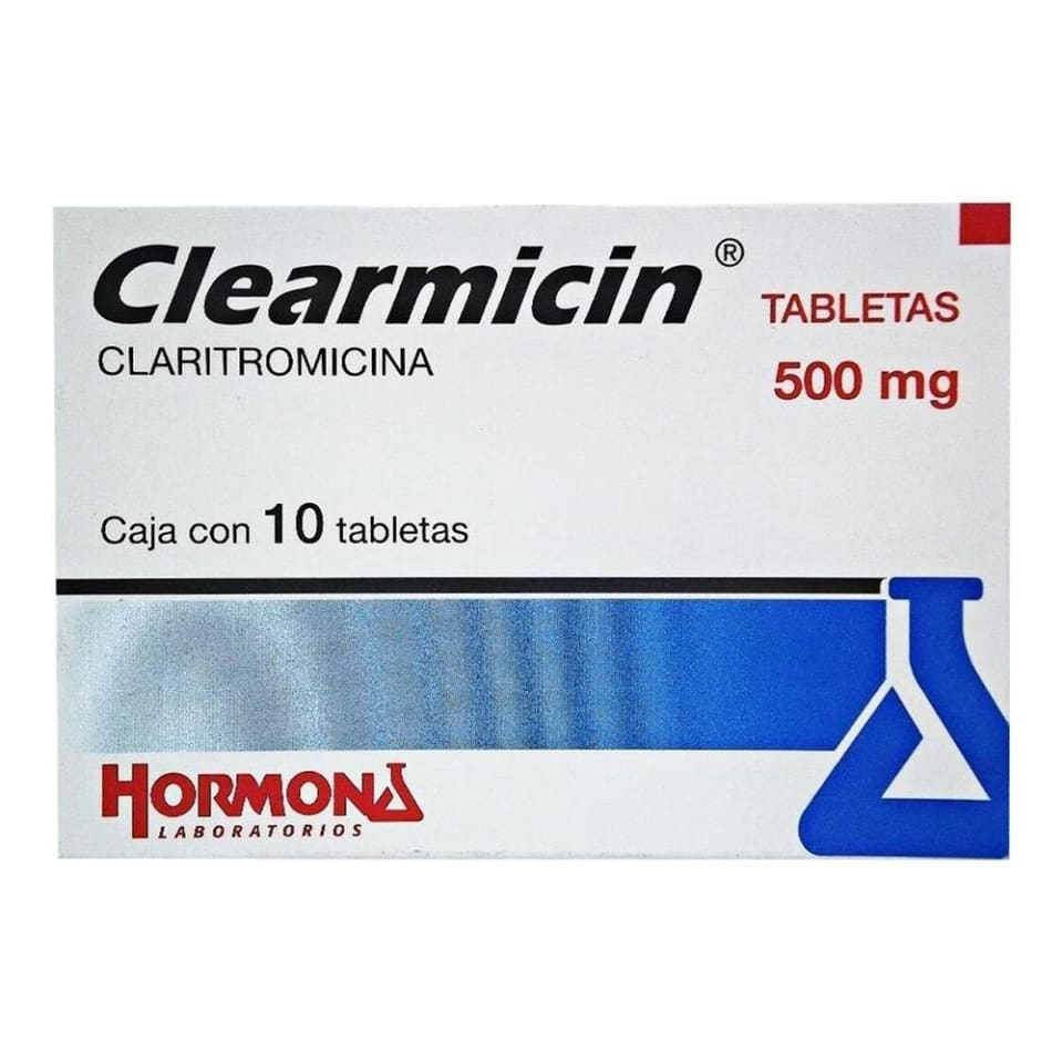 Clearmicin 500 Mg 10 Tabletas Walmart