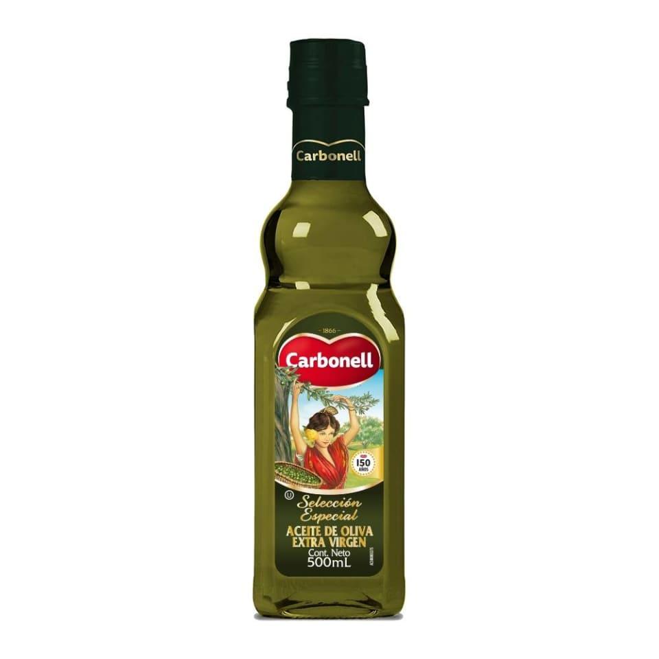 Aceite de oliva Carbonell extra virgen 500 ml   Walmart