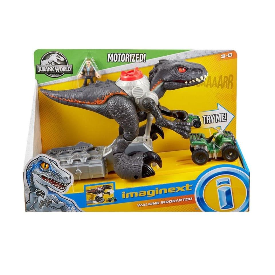 Indoraptor Imaginext Jurassic World Motorizado Walmart En Linea Camión atrapa dinosaurios de imaginext. fisher price