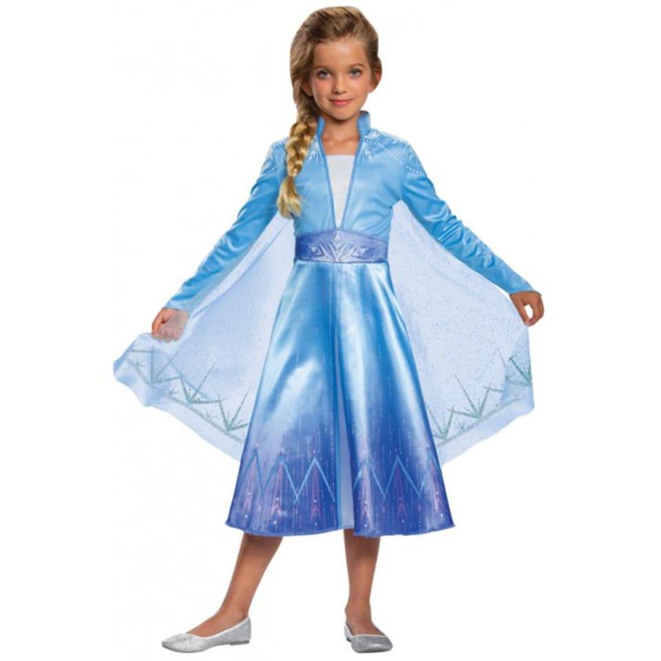 Disfraz de Elsa Frozen Disney Halloween Infantil talla 4-6 años   Walmart  en línea