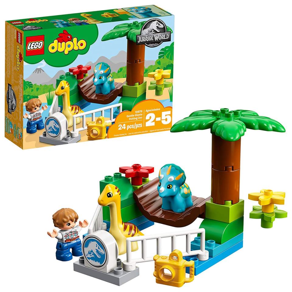 Kit De Construccion Zoologico Dinosaurios Jurassic Worl Lego Duplo 10879 Con 24 Piezas Lego 10879 Bodega Aurrera En Linea Elige entre 20 dinosaurios, incluyendo el amistoso crea una población de dinosaurios y luego explora isla nubla e isla sorna: 24 piezas lego 10879