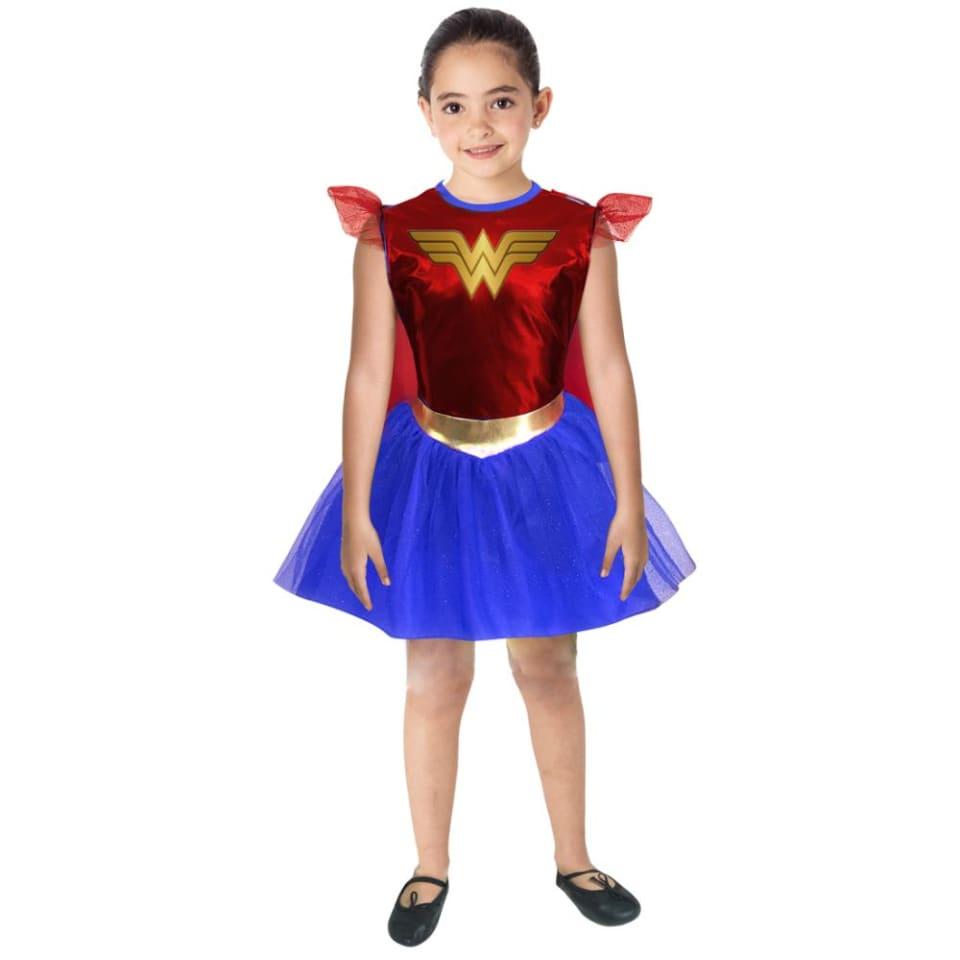 baratas para descuento 2e0ff 84110 Disfraz Mujer Maravilla Niña Warner 6 años Fantasy Ruiz ...