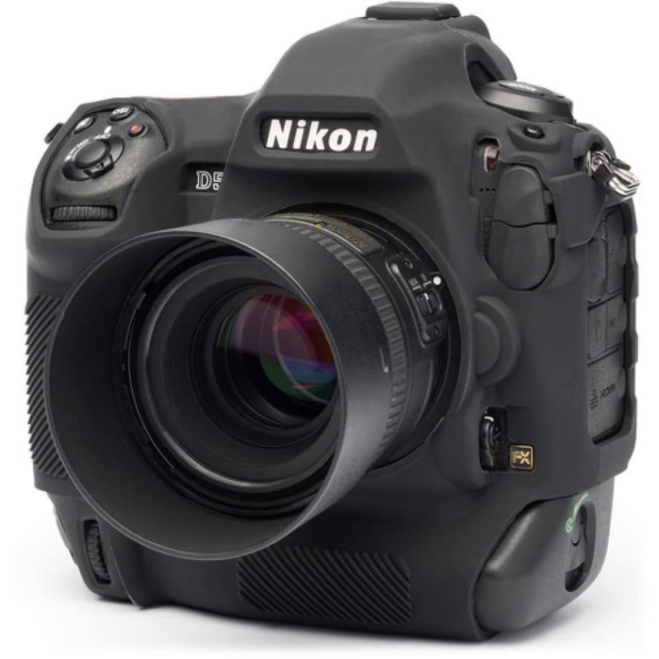Protectores de pantalla. Cámara Funda De Silicona Para Nikon D5 Negro