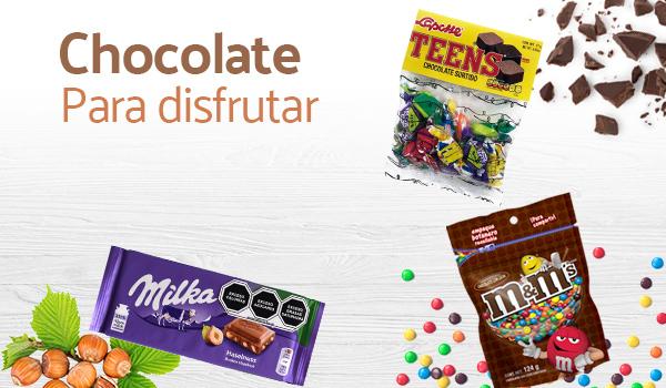 chocolate para disfruar