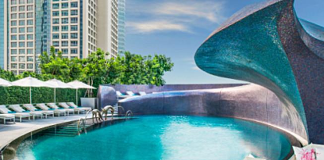 W Hotel Bangkok #Wanderable #Honeymoon #Registry #Travel