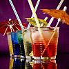 Cocktails at swim up bar