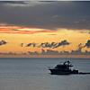 Sunset cruise in Fiji