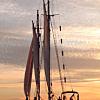 Wooden Schooner Sail