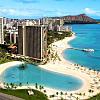 Ocean-view room at the Hilton Hawaiian Village at Waikiki