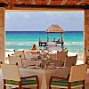 Sunset dinner on Playa Quieta