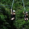 Couples Zip Line Canopy Tour :)