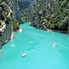 Kayaking in the Verdon Gorge