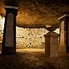Underground tour of the Paris catacombs