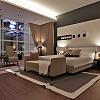 hotel room in monterey