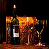 Bottle of wine/ Garrafa de vinho
