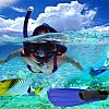 Snorkelling gear hire