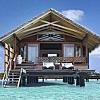 Overwater villa stay