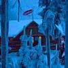Evening Snowshoe and Fondue Mountain Tour