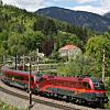 Train from Salzburg to Vienna