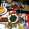 Dinner in Barcelona