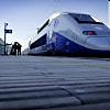 Scenic train ride from Avignon to Paris