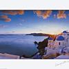 Sunset dinner in Mykonos