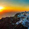 Sunset Dinner in Santorini